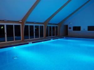 The Pool. Retallack Resort and Spa - Cornish Luxury for Parents www.minitravellers.co.uk