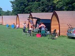 Picket Pods Cowbridge - Camping but not as you know it! www.minitravellers.co.uk