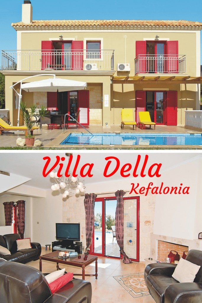 Pin villa Della Kefalonia www.minitravellers.co.uk