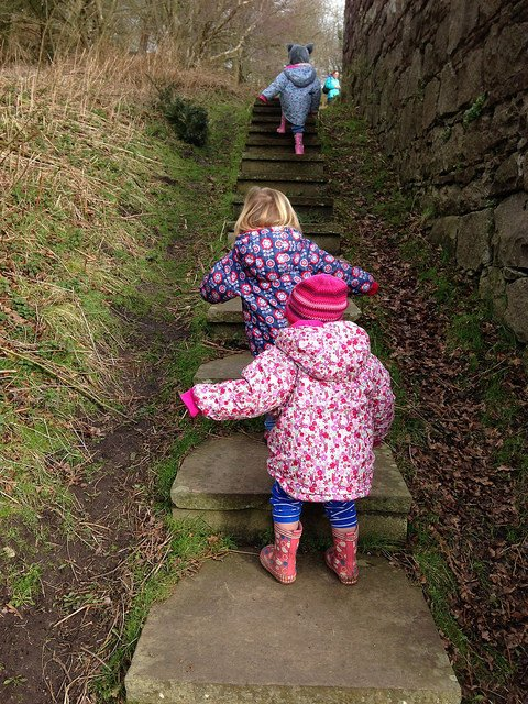 Mini Travellers - Beeston Castle, Cheshire