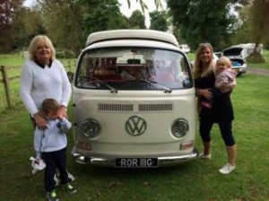 Mini Travellers - The Yorkshire Dales in 'Rori' the VW Campervan