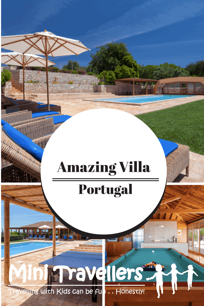 Family Friendly Villa in Portugal www.minitravellers.co.uk