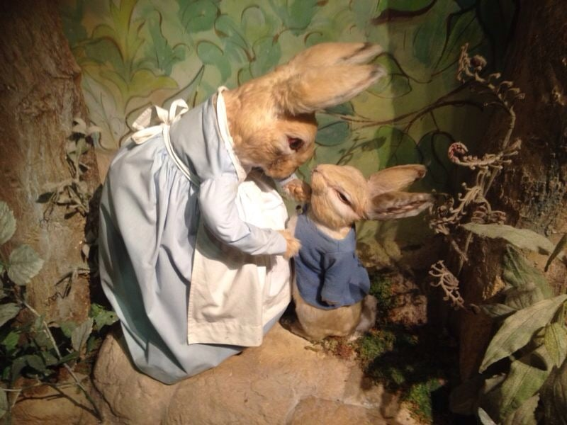 Christmas Tea Party with Peter Rabbit, Lake District