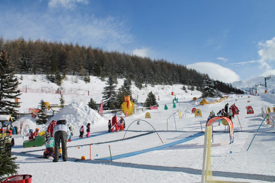 A skiing holiday in Les Menuires in France, one of the more affordable ski resorts