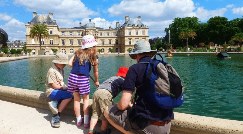 Eurocamp and Exploring in Paris with Children