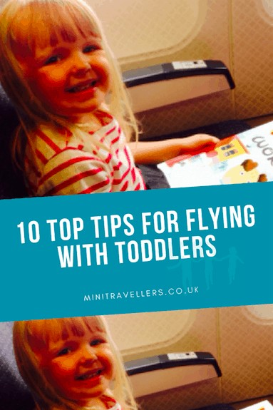 10 Top Tips for Flying with Toddlers