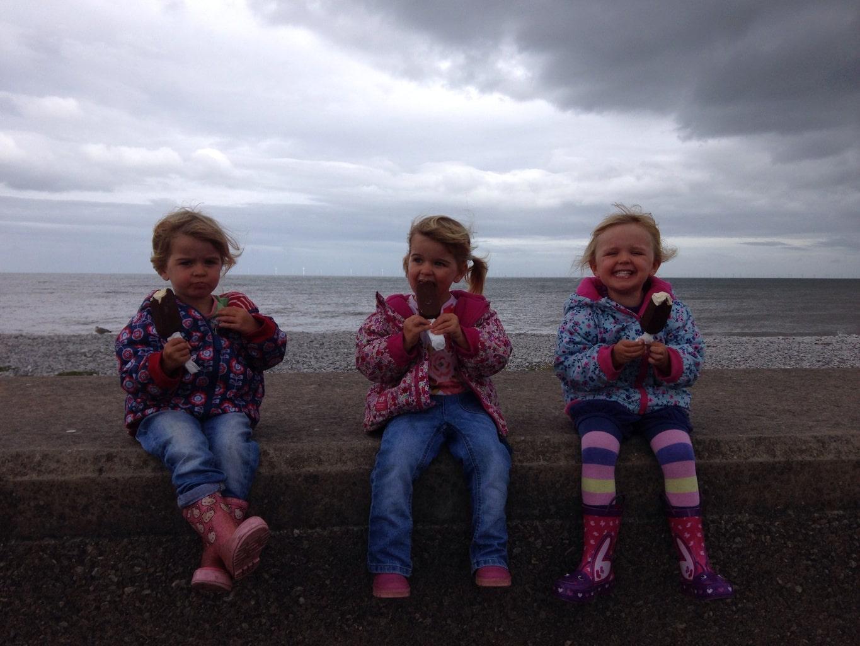 Abergele and Pensarn beach www.minitravellers.co.uk