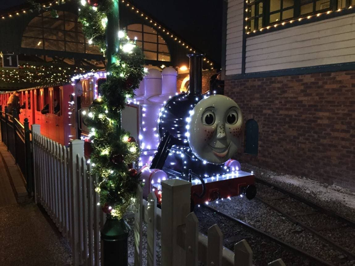 Christmas at Thomas Land