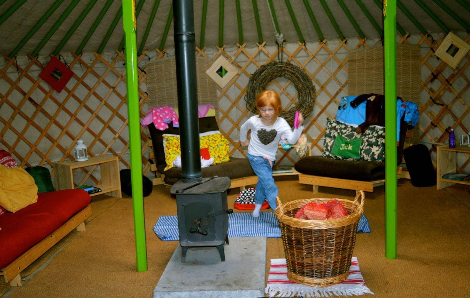Westwood Yurts, Gibside