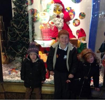 Fenwicks Christmas Window, Newcastle
