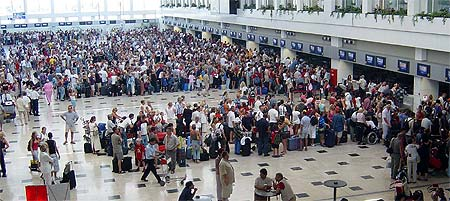 Beating airport security