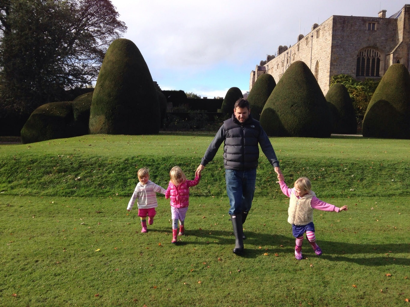 Chirk Castle, Nr Wrexham, Wales - Mini Travellers - Family