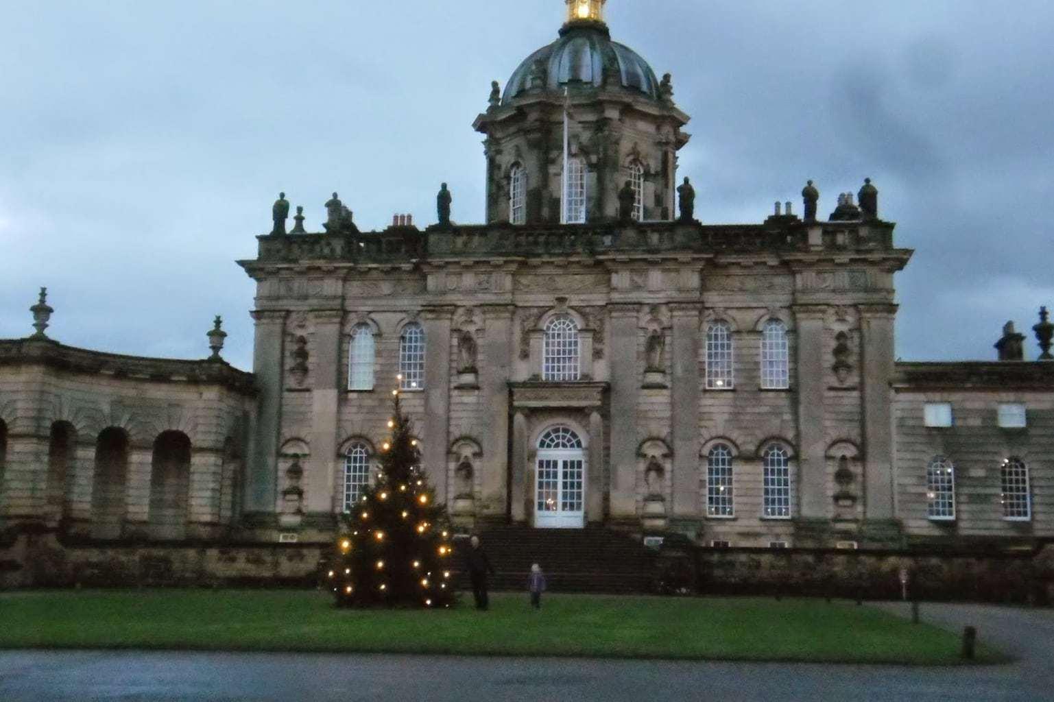Magical Christmas at Castle Howard, York