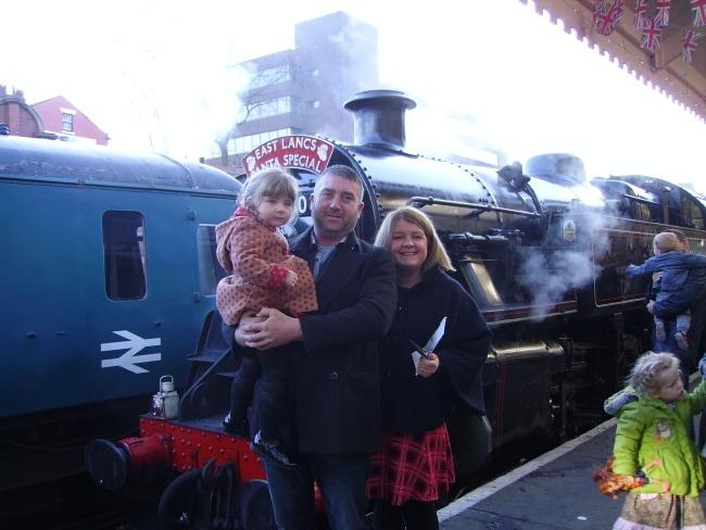 Santa Express on the East Lancashire Railway