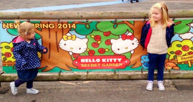 Hello Kitty Secret Garden, Drusillas Park, East Sussex