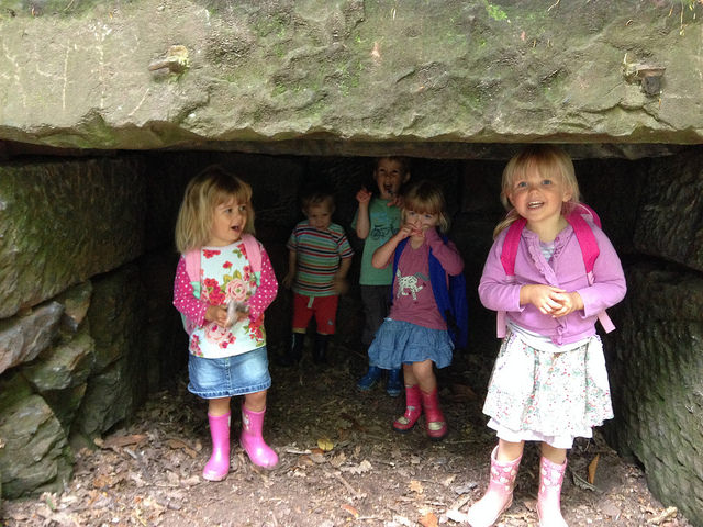 Family Day Trip to Eastham Country Park, Wirral