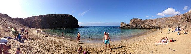 How to find Playas Del Papagayo, Lanzarote