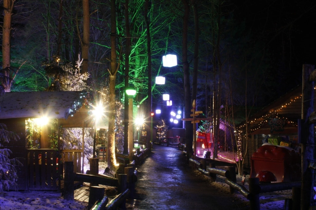 Winter Wonderland at Center Parcs Whinfell