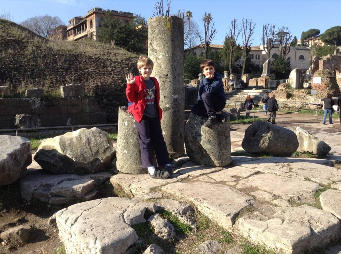 Visiting Rome with Kids www.minitravellers.co.uk