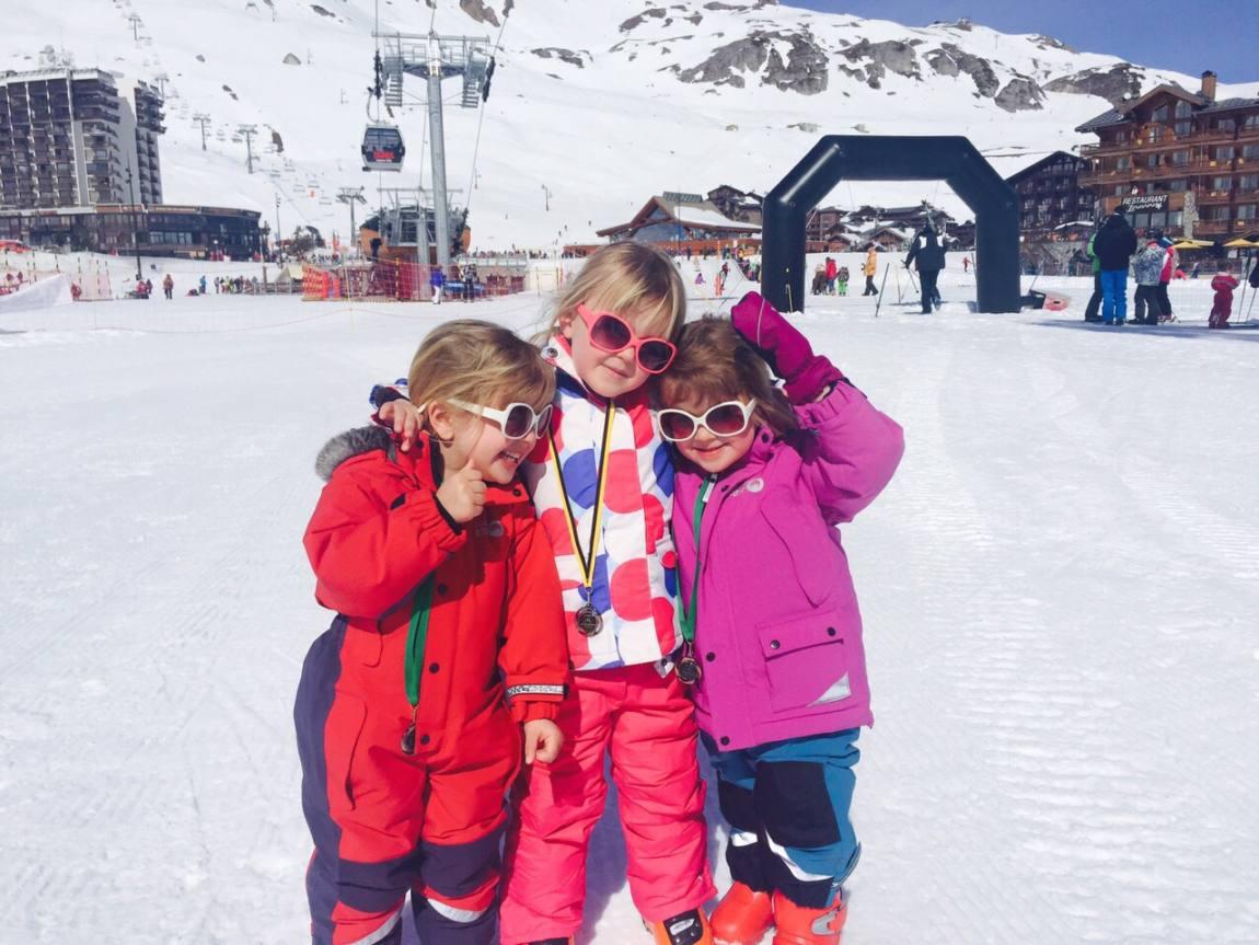 Skiing with Mark Warner