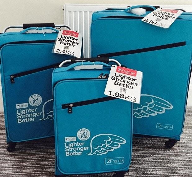 Travel Tips: Z Frame Suitcases