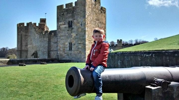 Alnwick Castle, Northumberland with Pre-School Children