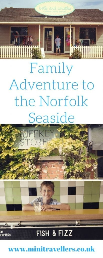Family Adventure to the Norfolk Seaside