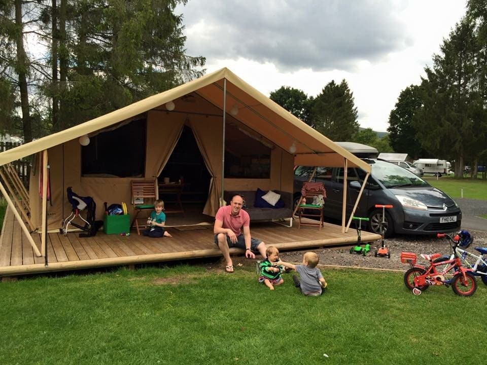 Ready Camp at Blackmore Camping and Caravanning Club Site