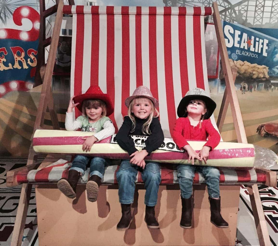 Madame Tussauds Blackpool with Kids