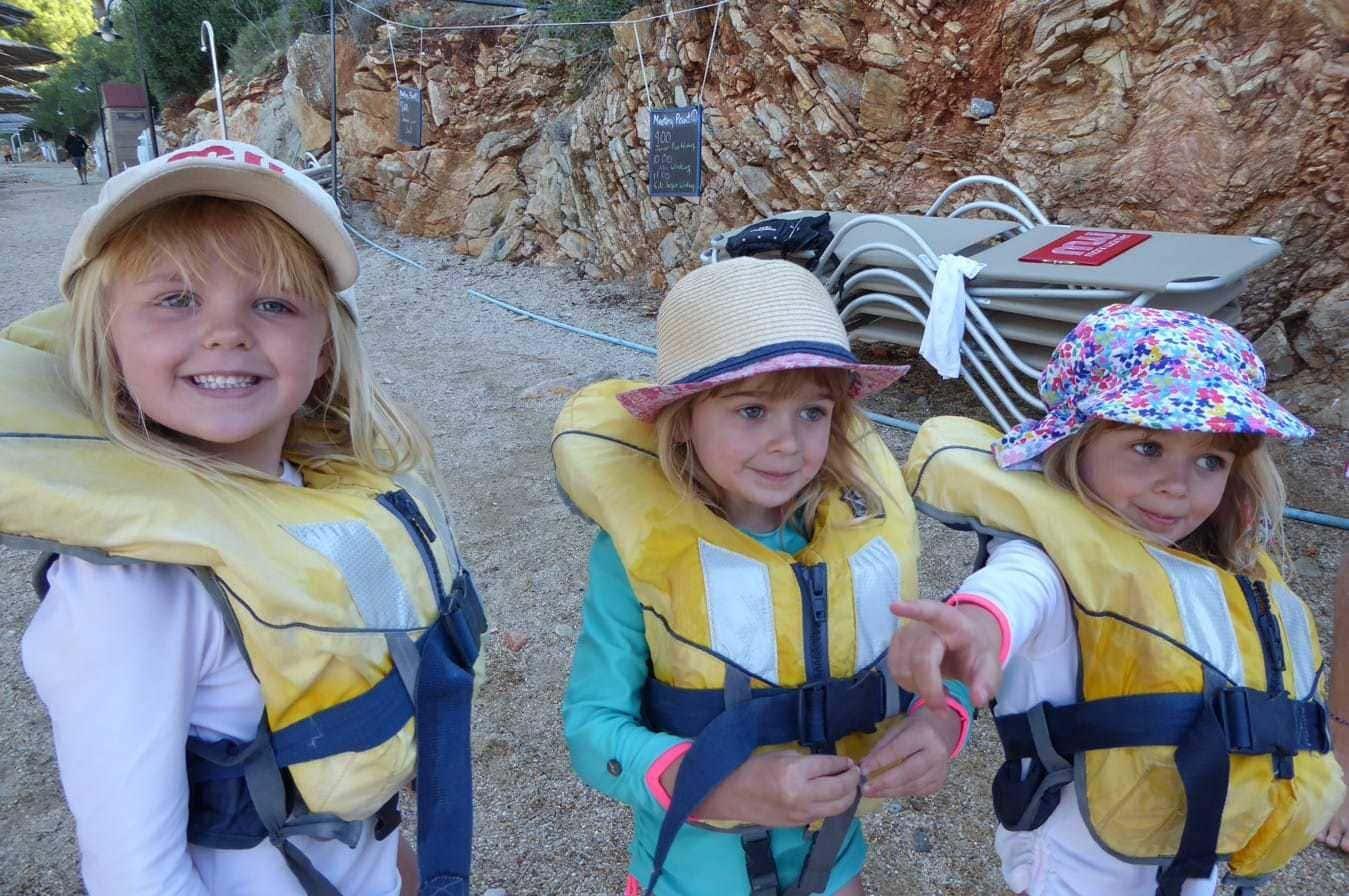 Childcare at Sea Garden in Bodrum