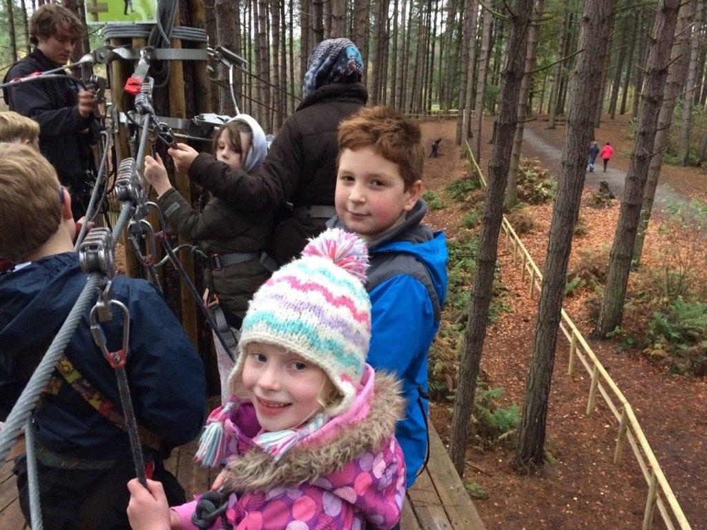 Go Ape Delamere Forest www.minitravellers.co.uk