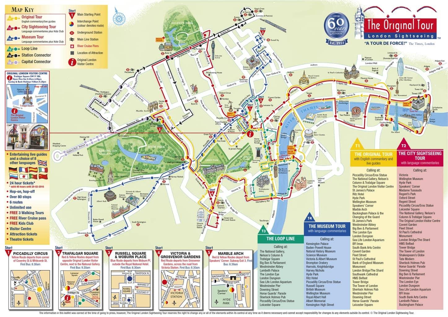 the original tour london open top bus tour mini travellers review