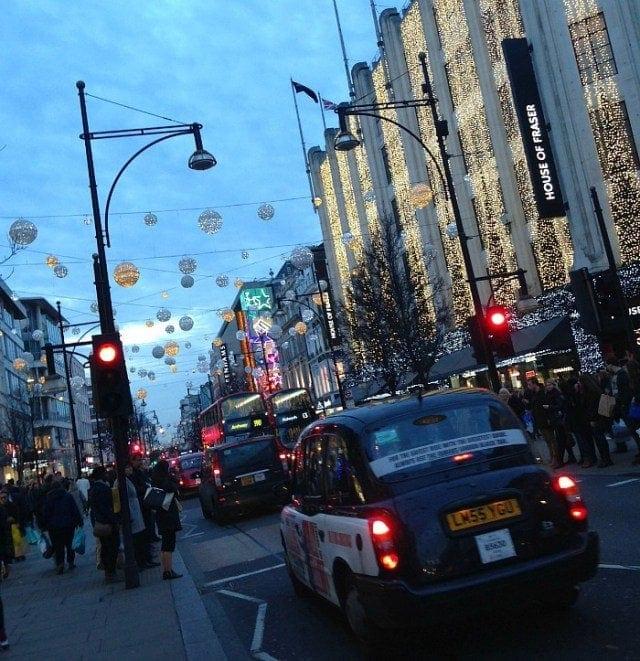 Festive Weekend in London