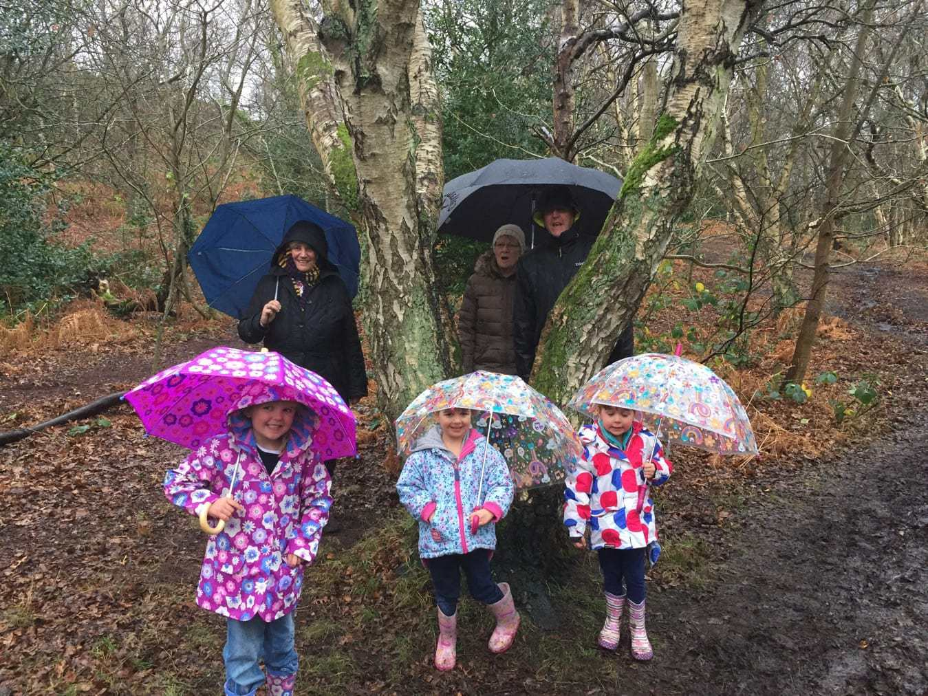 Rainy Christmas Day Walk