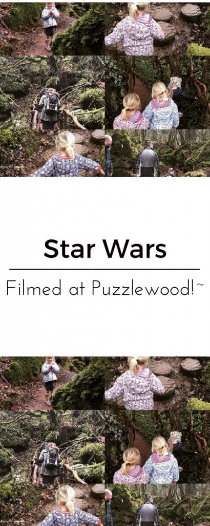 Star Wars is Filmed at Puzzlewood www.minitravellers.co.uk