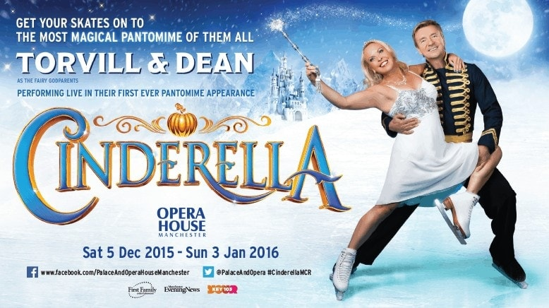 Cinderella Pantomime with Torvill and Dean