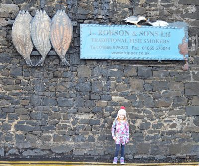 Visiting the famous Smokehouse on a Winter break in Craster
