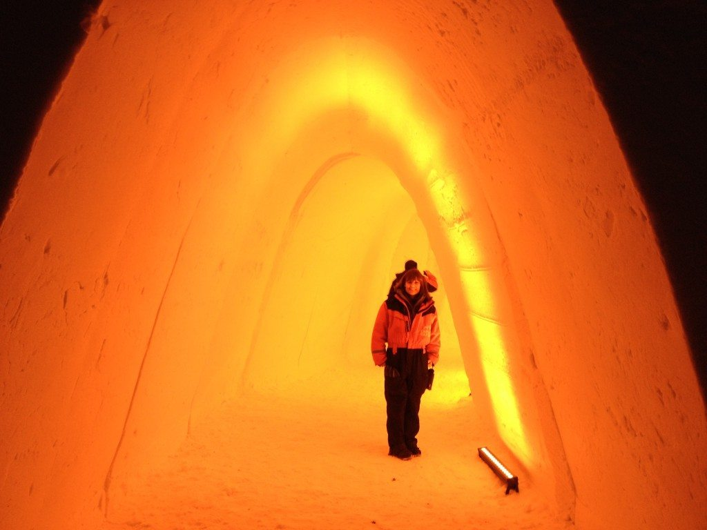 Exploring on a family adventure to Lapland