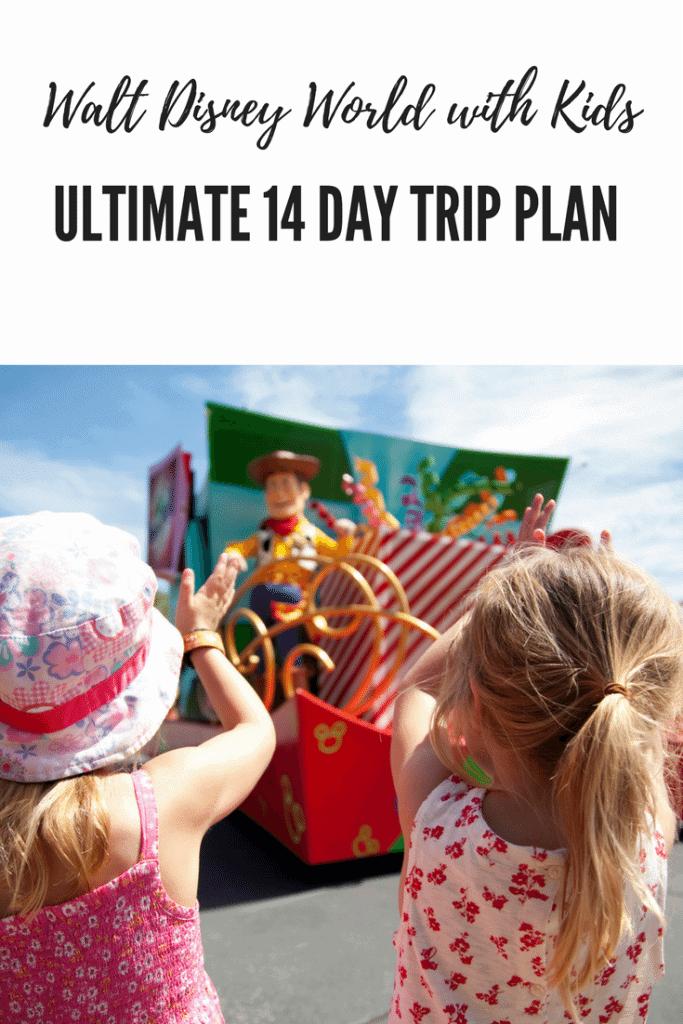 Walt Disney World with Kids Ultimate 14 Day trip Plan www.minitravellers.co.uk