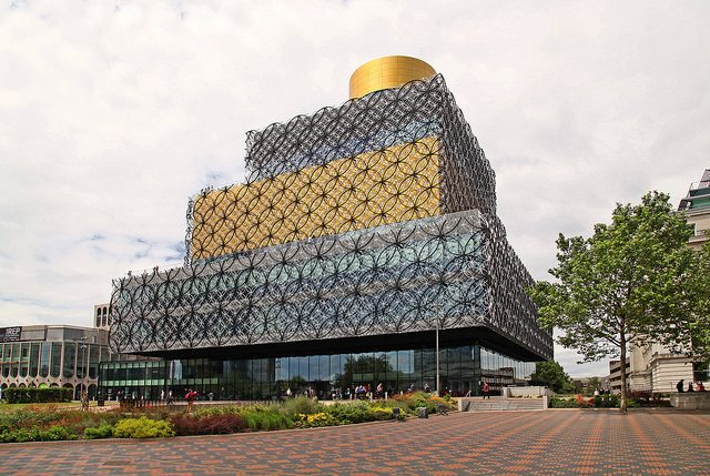Visiting Birmingham's New Library with Kids