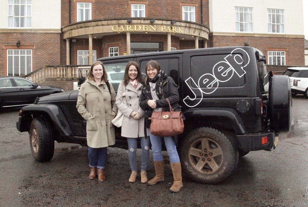 Jeeps and Jacuzzis at Carden Park