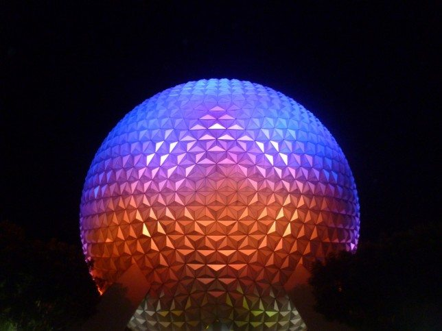 Two Day Touring Plan for Epcot with Under 5's