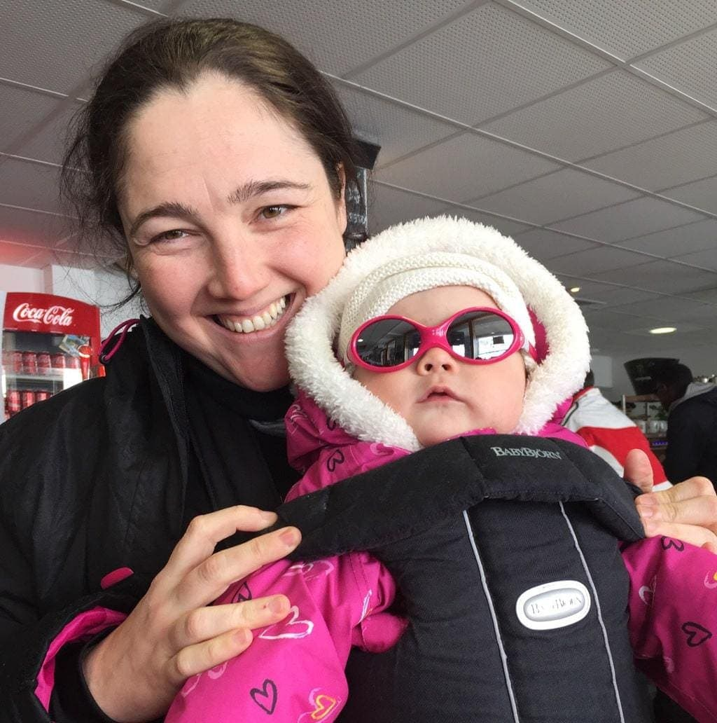 Baby Wearing – How to Ski with a 6 Month Old!