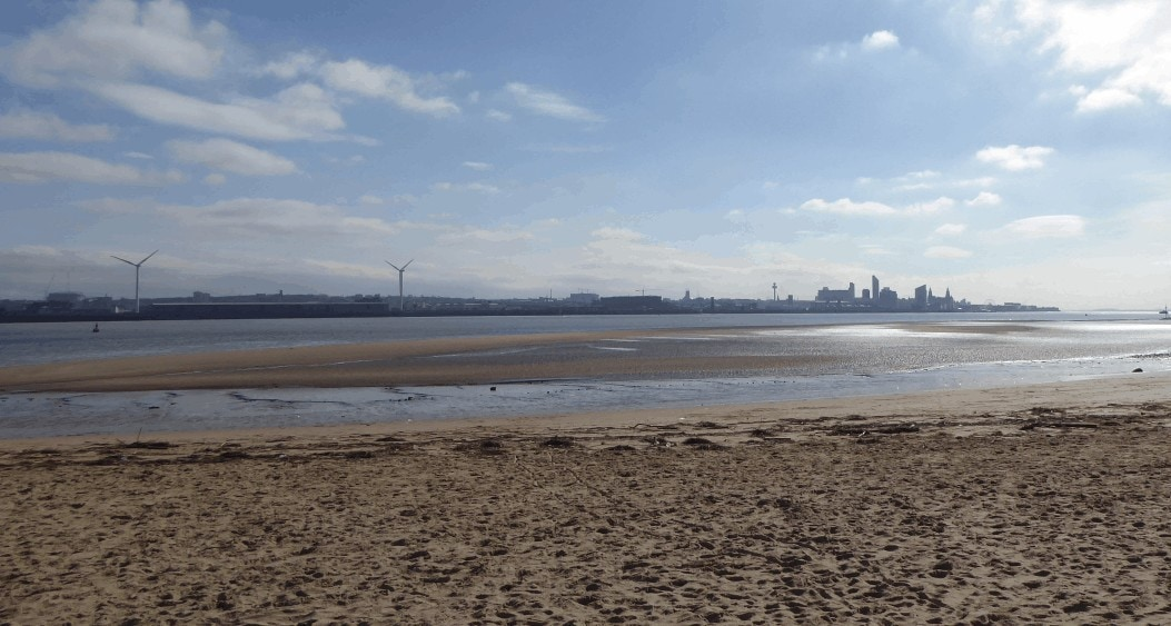 Fun day out with friends in New Brighton Wirral with Pirates, Fairies and Lunch