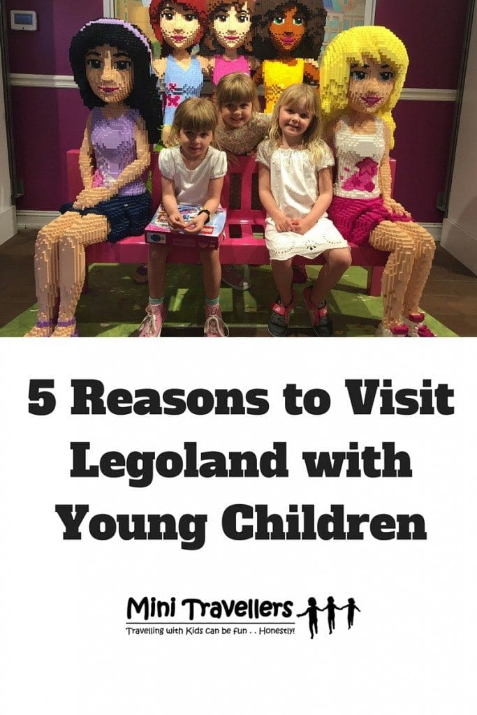 5 Reasons to Visit Legoland with Young Children