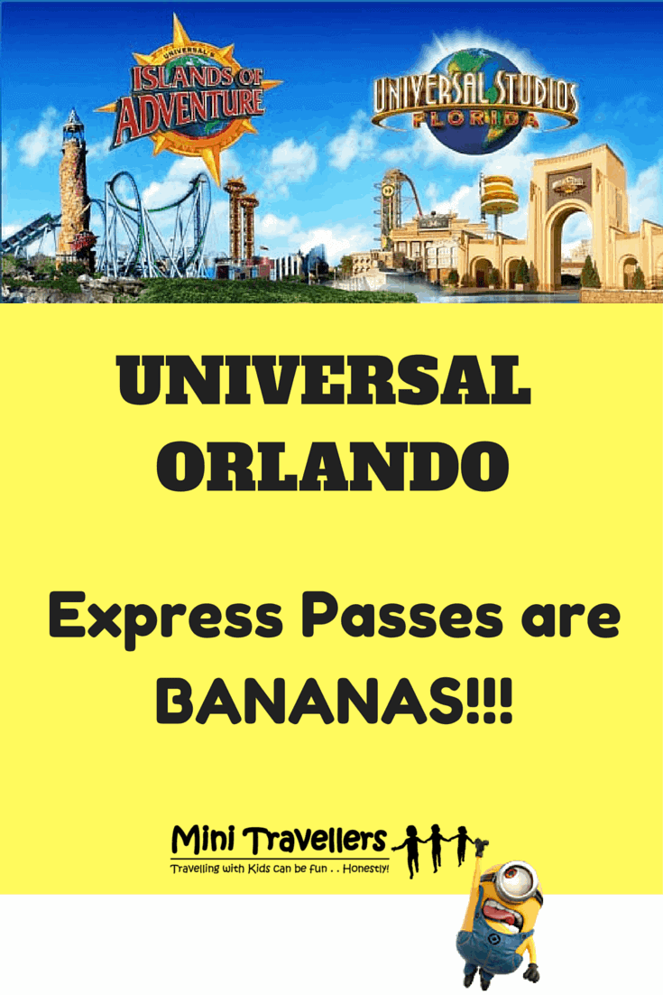 Review of Universal Studios and Islands of Adventure