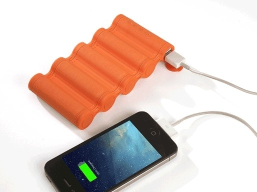 10,400 mAh battery capacity, Portable, rugged, shockproof and water-resistant., Will charge most smart phones up to 8 times and most Tablets up to 5 times., Super Fast Power Up, Designed to work in any environment, Flexible