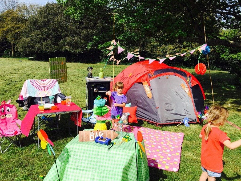 Regatta Tent Styling