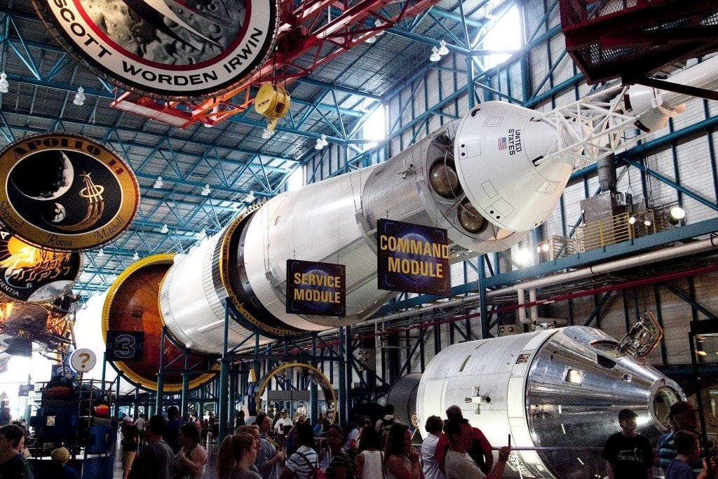Kennedy Space Centre (KSC) at Cape Canaveral