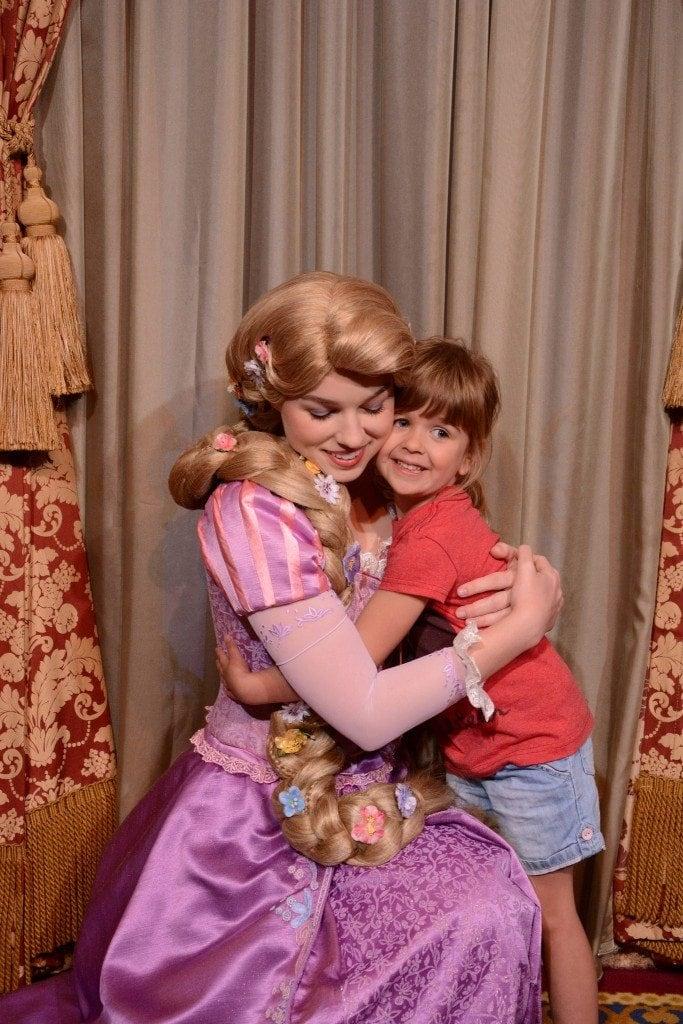 Rapunzel at Magic Kingdom